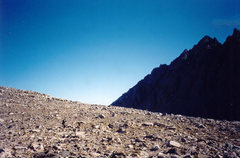 Rock Climbing Photo: Agassiz from west of Bishop Pass.