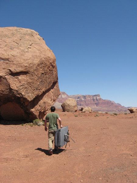 Rock Climbing Photo: Arizona boulders