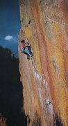 Rock Climbing Photo: Rainbow Wall