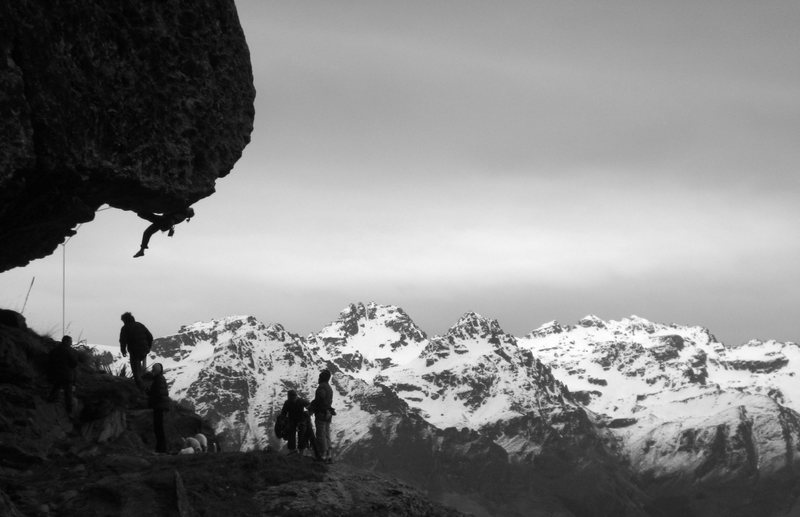 Rock Climbing Photo: Wye Creek - a crag with a view.  This is the class...