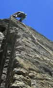 Rock Climbing Photo: John Bestfather leading Headbanger's Arete, circa ...