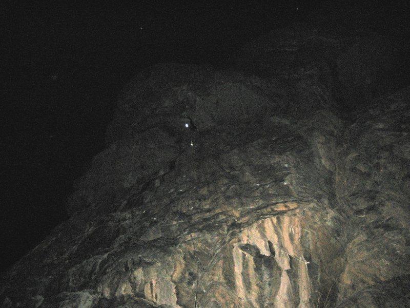Rock Climbing Photo: roof beta..