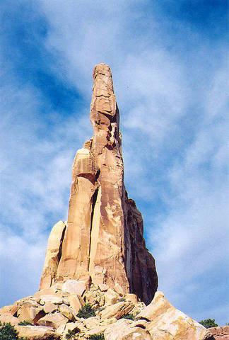Rock Climbing Photo: Resurrection Spire