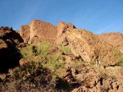 Rock Climbing Photo: The Pyramid, Panther Peak