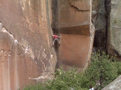 Rock Climbing Photo: penatente,colorado . . .not the cross I bear