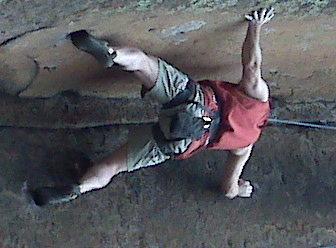 Rock Climbing Photo: penatente,colorado . . .not the cross I bear