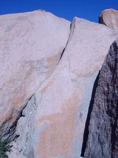 Rock Climbing Photo: Upper Jack Knife