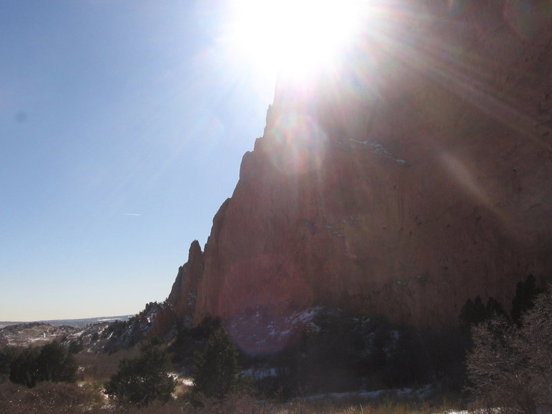 Rock Climbing Photo: Sunny North Gateway.