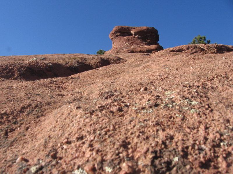 Rock Climbing Photo: Trying to be artsy.