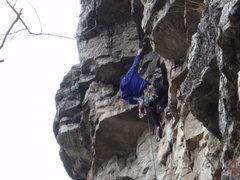 Rock Climbing Photo: eek steeper