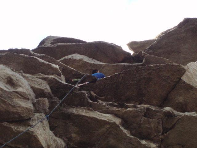 Rock Climbing Photo: 2nd hang