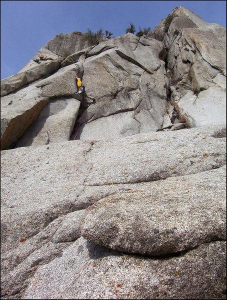 Rock Climbing Photo: Go Van Gogh