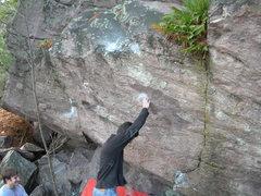 Rock Climbing Photo: The proj!
