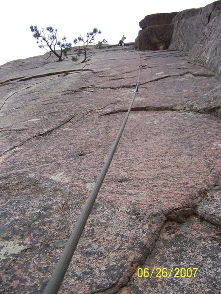 Slipstream Dihedral 5.9****<br> one of the best routes in the BTC