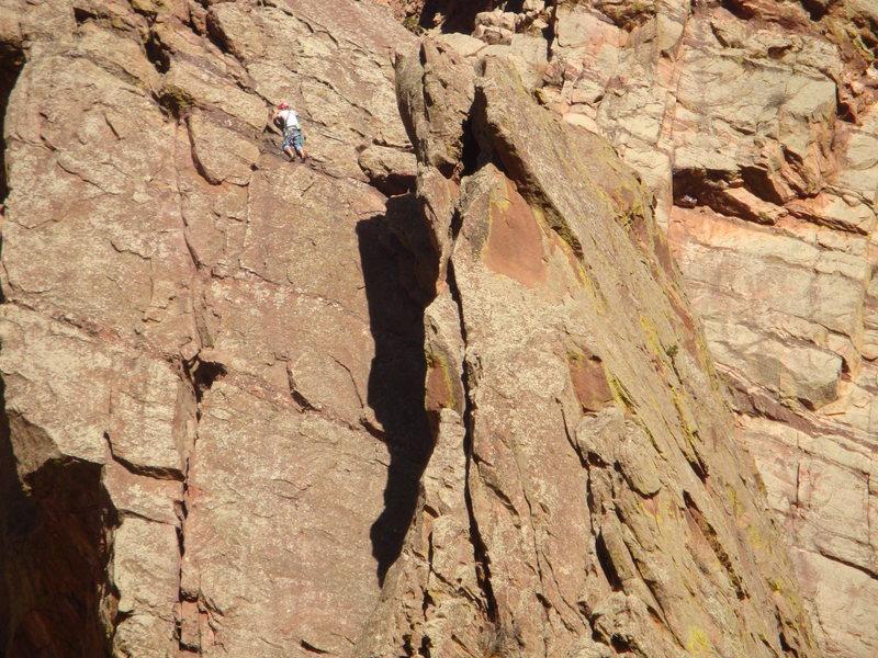 West Dihedral 5.4 - Eldorado Canyon