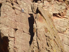 Rock Climbing Photo: West Dihedral 5.4 - Eldorado Canyon