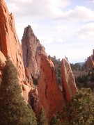 Rock Climbing Photo: Top of The White Spire - Garden of The Gods