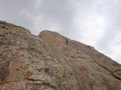 Rock Climbing Photo: Last Pitch of East Standard 5.3 - 3rd Flatiron