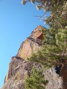Rock Climbing Photo: East Street 5.3 - Eldorado Canyon