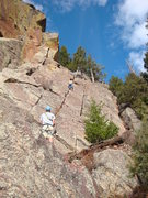 Rock Climbing Photo: Unknown Crack ? - Fin One, Cad. Crag - Eldorado Ca...