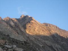 Rock Climbing Photo: Blitzen Ridge on the approach
