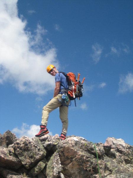 James on summit block