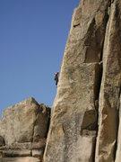 Rock Climbing Photo: Blue Sky, warm granite, and fun climbing. Just ano...