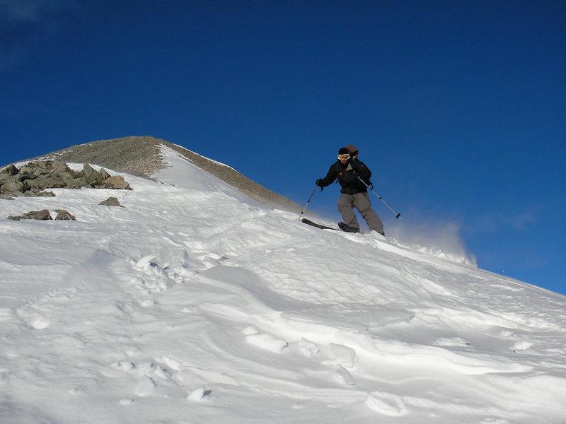 Rock Climbing Photo: Mt. Antero  ski descent