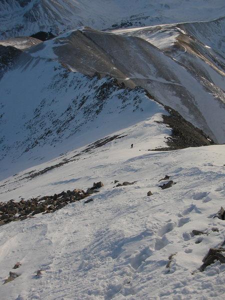 The ski line
