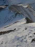 Rock Climbing Photo: The ski line