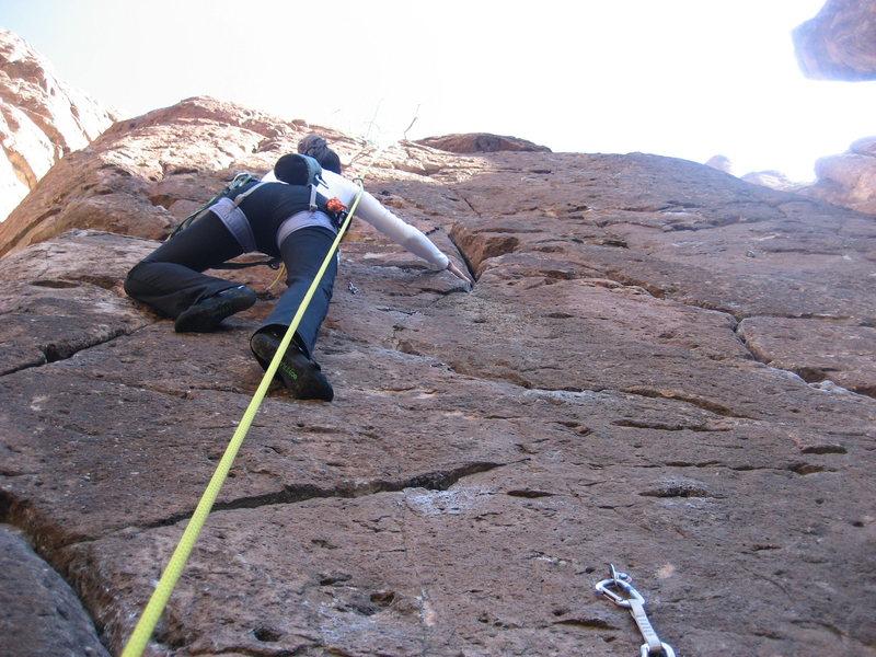 Rock Climbing Photo: G-String