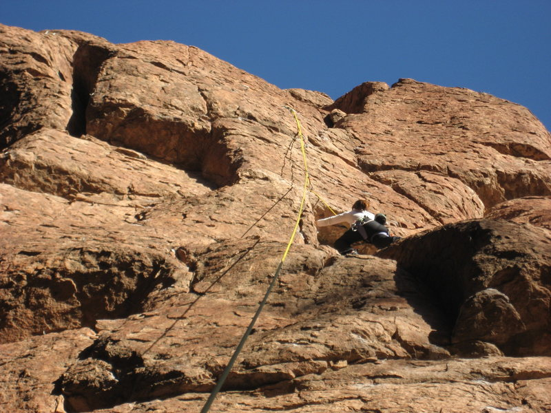 Rock Climbing Photo: Gigging Marlin