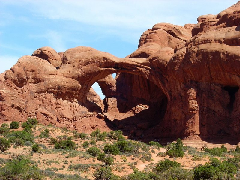 "I think this is ""Double Arch"", Arches NP."