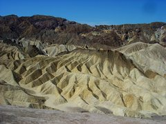 Rock Climbing Photo: Zabriski Point, Death Valley NP.