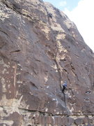 Rock Climbing Photo: Second pitch of Ragged Edges
