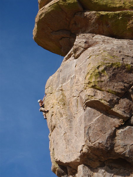 Rock Climbing Photo: West Niles,5.11- (The Sphinx)