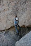 Rock Climbing Photo: Nathan at the crux.