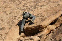 Rock Climbing Photo: Nathan on Search For Klingons. Hall of Horrors Are...