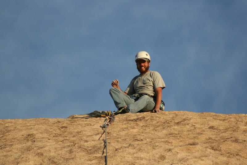 Always a smile for a fun climb.