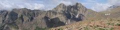 Rock Climbing Photo: The Crestone Needle and Peak massif. Photo by Anna...