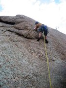 Rock Climbing Photo: Beginning of One for the Road.  Super fun route.