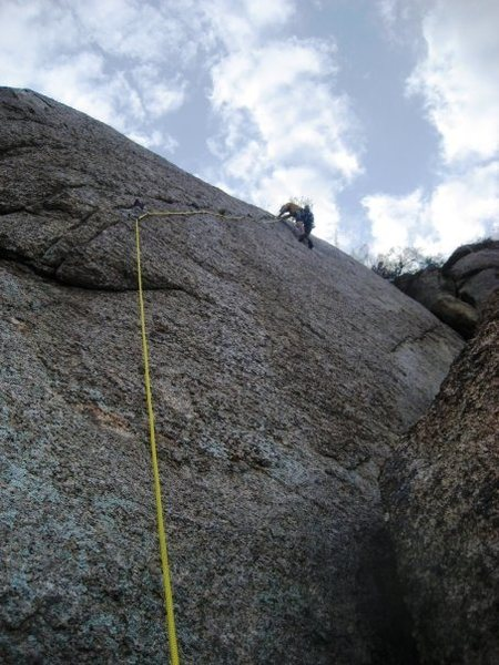 Rock Climbing Photo: One for the Road