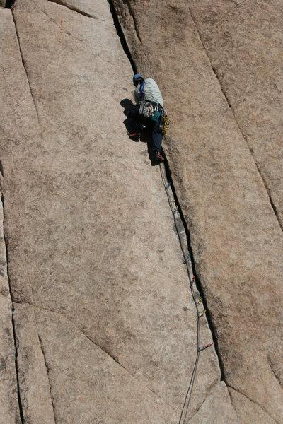 Rock Climbing Photo: How to sew up a climb by Albert.