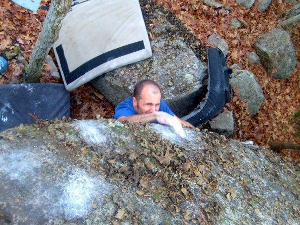 Rock Climbing Photo: FA of Beer 30.