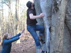 Rock Climbing Photo: My first time on Ball Doctor, without any beta &lt...