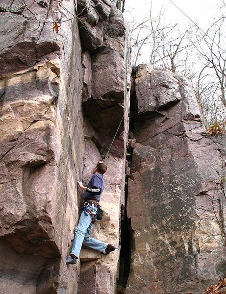 Rock Climbing Photo: Dave Nelson