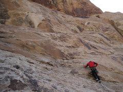 Rock Climbing Photo: Starting IME.