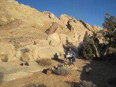 Rock Climbing Photo: Breakfast at Tiffany's !