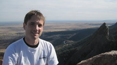 Rock Climbing Photo: top of first flatiron
