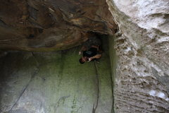 Rock Climbing Photo: Fun move on The Underling